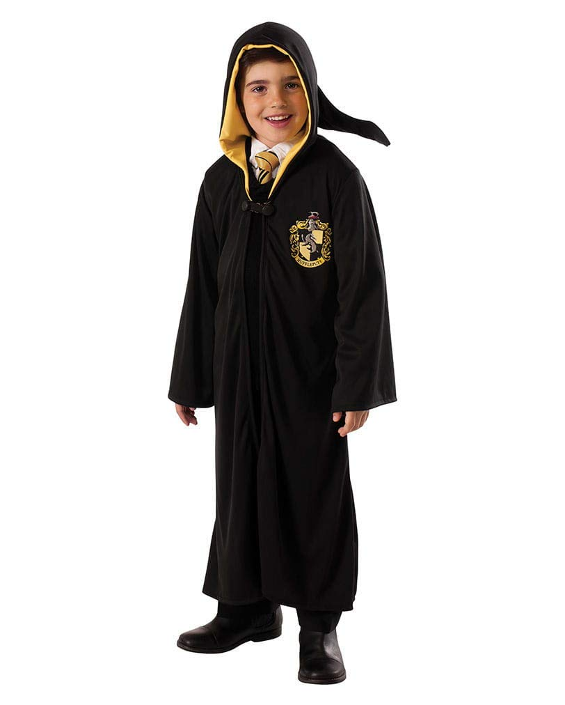 Horror-Shop Batas de Hufflepuff para niños M: Amazon.es ...