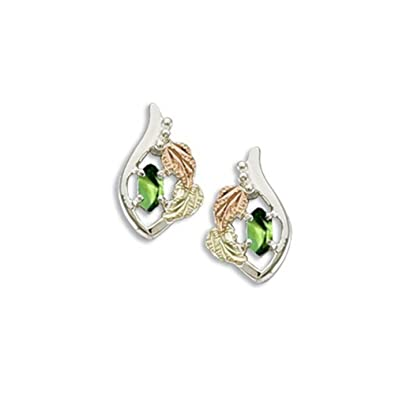 6704e346093a8 Amazon.com: Created Soude Peridot Marquise August Birthstone ...