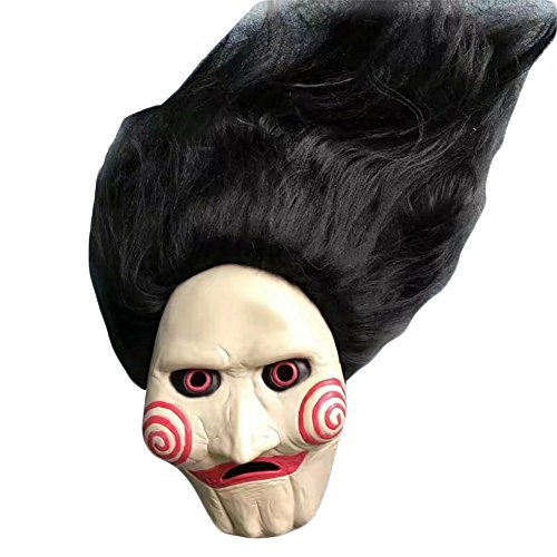 Costume Near For Me Halloween (Halloween Party Masquerade Masks Latex Jaffaite Plastic Mardi Gras Masks Funny Scary Haunted House Best Face Mask Headgear Decorations Texas Chainsaw Massacre Moive)