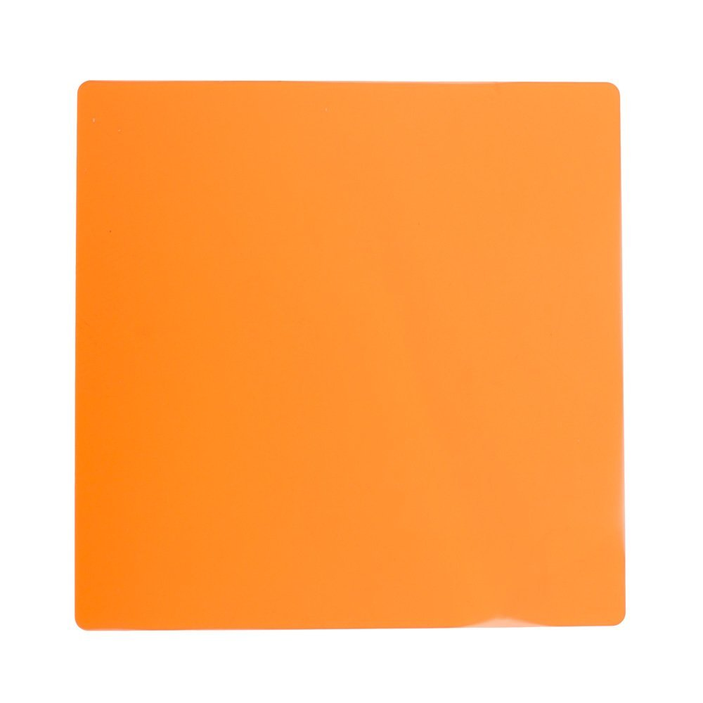 Fovitec - 1x Replacement Photography & Video Amber 600 Series LED Light Panel Filter - [Durable Acrylic][Consistent Color Temperature][3200K][Tungsten]