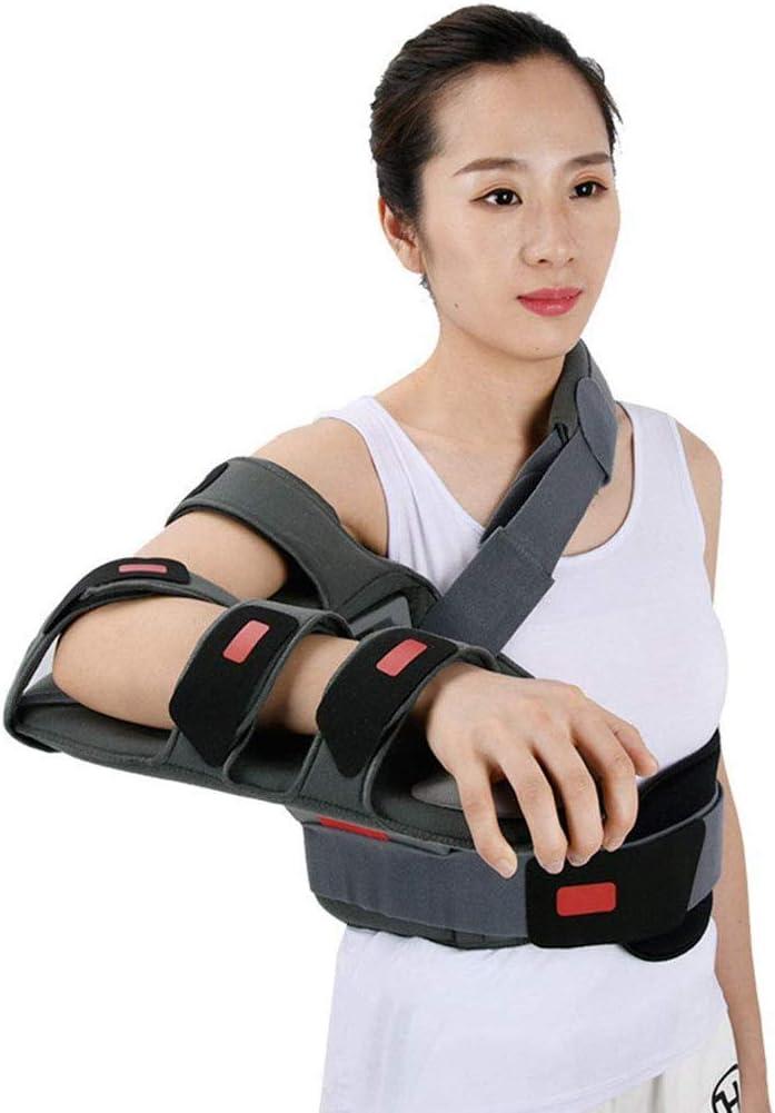 LXT PANDA Órtesis de abducción de Hombro Aparato ortopédico Fijo - Abducción de Hombro Órtesis de Hombro Sling Ortesis de Hombro Ajustable Inmovilizador para Soporte