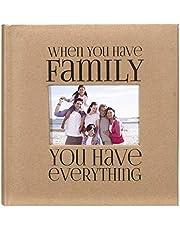 Malden International Designs 2 Up 4x6 Photo Album Family