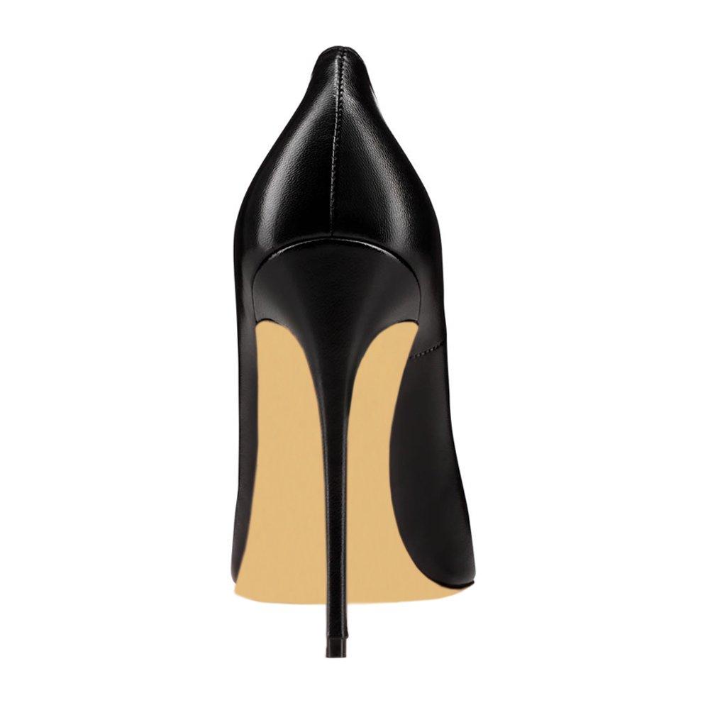 1ae056b88bc2e0 MERUMOTE Frauen Spitzschuh Stiletto High Heel Lackleder Kleid Partei üblichen  Pumpen  Amazon.de  Schuhe   Handtaschen