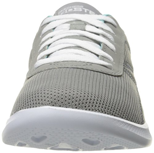 Skechers Go Step Lite - Persistance Mujer US 8 Gris Zapato para Correr
