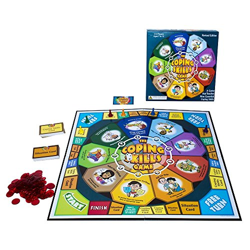 The Coping Skills Game: Nine Essential Skills to Teach Kids How to Deal with Real-Life Problems ()