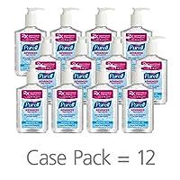 PURELL Gel desinfectante para manos avanzado, 8 oz. Botella de bomba (paquete de 12) - 9652-12-CMR