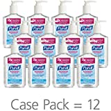 PURELL Advanced Hand Sanitizer Refreshing Gel, 8 oz. Pump Bottle (Pack of 12) - 9652-12-CMR