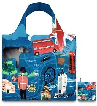 e878954a807a LOQI Urban Reusable London Design Tote Shopping Bag  Amazon.co.uk ...
