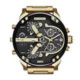 Diesel-Mens-Mr-Daddy-20-Quartz-Stainless-Steel-Chronograph-Watch-Color-GoldTone-Model-DZ7333