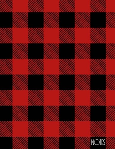 Notes: Buffalo Plaid Notebook (Composition Book, Journal) (8.5 x 11 Large)