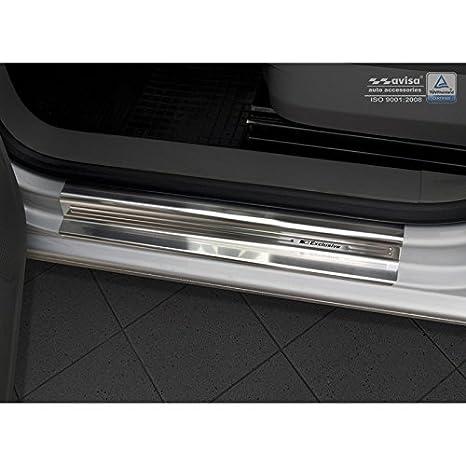 Autostyle 2/22942 INOX - Protector para umbral de Puerta, Color Plateado: Amazon.es: Coche y moto