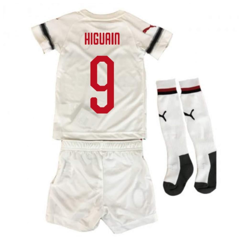 UKSoccershop 2018-2019 AC Milan Puma Away Mini Kit (Gonzalo Higuain 9)