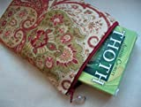 FLORAL Tarot Bag- Silk Lined Zip Pouch (Limited Edition Tarot Bags)