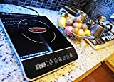 Gas One 1800-Watts Portable Multi-function Induction Cooker with Sensor Touch Button Control and Timer ES-300