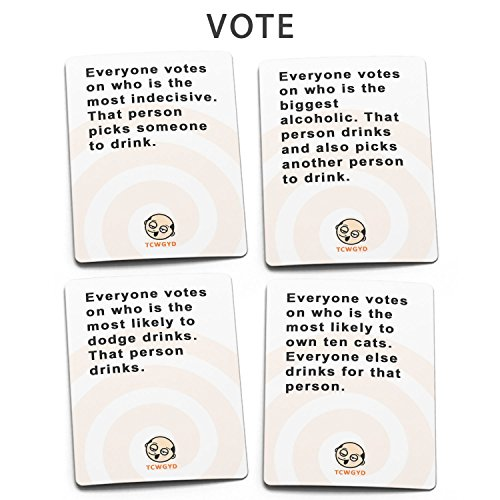 These Cards Will Get You Drunk - Fun Adult Drinking Game For Parties by These Cards Will Get You Drunk (Image #3)