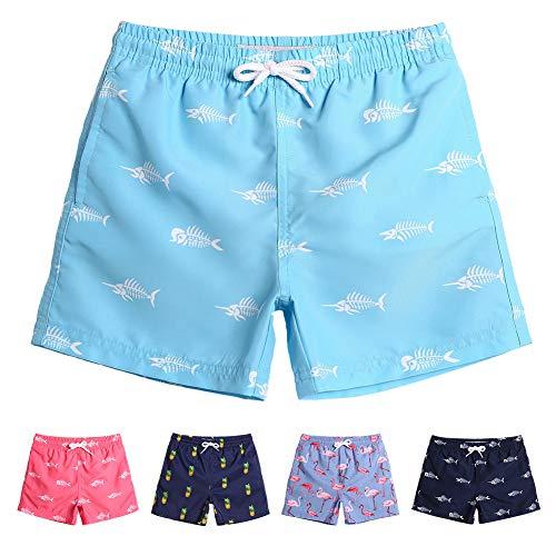 MaaMgic Boys 5T 6T Swim Trunks Toddler Swim Shorts Little Boys Bathing Suit Swimsuit Toddler Boy Swimwear Boys Swim Trunks Bathing Suit