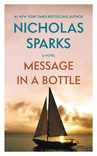 Message in a Bottle by [Sparks, Nicholas]