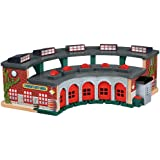 Fisher-Price Thomas the Train Wooden Railway Deluxe Roundhouse