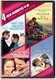 DVD : 4 Film Favorites: Nicholas Sparks (Message in a Bottle, Nights in Rodanthe, The Notebook, A Walk to Remember)