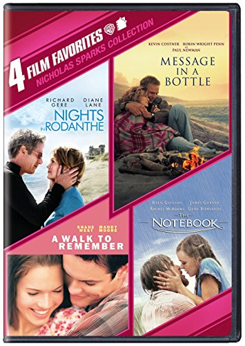 4 Film Favorites: Nicholas Sparks (Message in a Bottle, Nights in Rodanthe, The Notebook, A Walk to Remember) (List Of Best Banks In Usa)