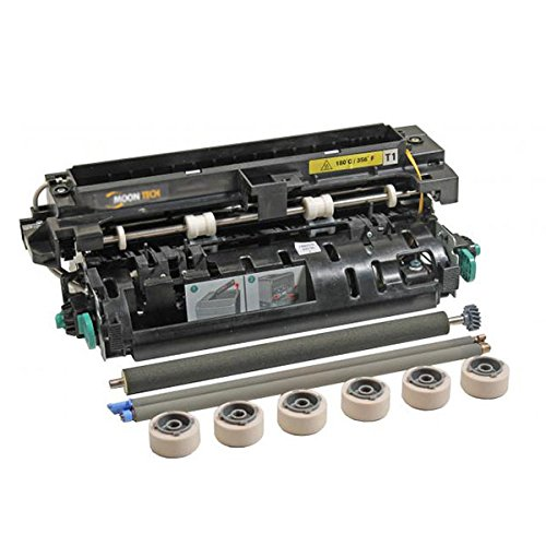 Compatible Maintenance Kit With Oem Rollers (110-120V) (Type 1) (Includes Fuser Assembly Transfer Roller Charge Roll Pick Tires) (Part Number: 40X4724) (300000 Yield) for Lexmark - Charge Assembly Roller