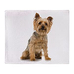 "CafePress Yorkshire Terrier Soft Fleece Throw Blanket, 50""x60"" Stadium Blanket 38"