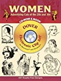 Women Advertising Cuts of the 20s and 30s CD-ROM and Book (Dover Electronic Clip Art)