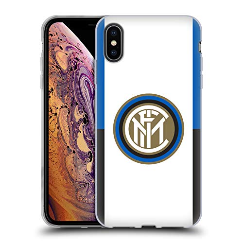 - Official Inter Milan Badge 2017/18 Crest Soft Gel Case for iPhone Xs Max