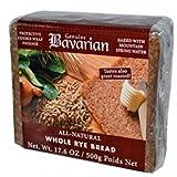 Bavarian Organic Whole Rye Bread (6x17.6Oz )