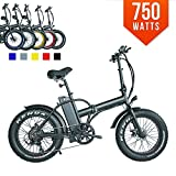 #10: 2018 model!!Powerful 13AH 750W 48volt folding snow street electric motor bicycle !!Retail value $2500!!!