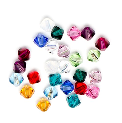 Swarovski - Create Your Style Bicone Mix Birthstone 3 packages of 26 Piece (78 Total Crystals)
