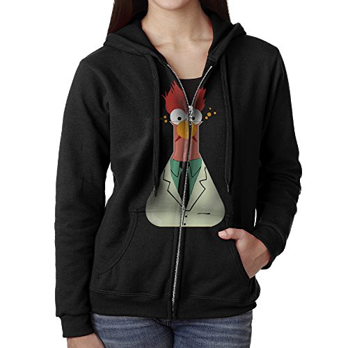 Women's THE MUPPETS BEAKER SQUARED Hoodie Dress With Pockets (Beaker From Muppets)