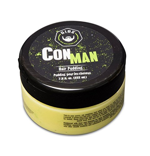 GIBS Grooming Con Man Hair Pudding 7.5 Ounce by GIBS GROOMING