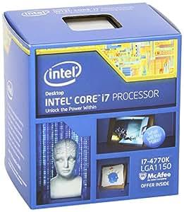 Intel Core i7-4770K Quad-Core Desktop Processor 3.5 GHZ 8 MB Cache BX80646I74770K