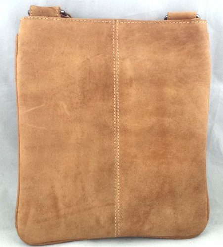 Premium Leather , Sac pour femme à porter à l'épaule beige Beige Tan Medium