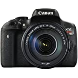 Canon EOS Rebel T6i 24.2 MP Digital SLR Touchscreen Camera Kit with EF-S 18-135mm IS STM Lens - Built-in WiFi and NFC (Certified Refurbished)