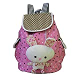 FTSUCQ Girls Canvas Bunny Stud