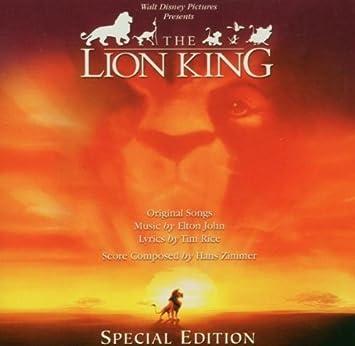 amazon lion king hans zimmer キッズアニメ テレビ 音楽
