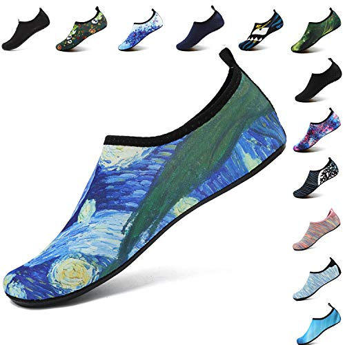 Women Water for Exercise Men Quick Shoes Aqua Shoes Cloud Drying Abstract Pool Yoga VIFUUR Unisex Beach ABpwqwf1