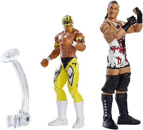 (WWEBattle Pack Series #33: Rob Van Dam vs. Rey Mysterio Action Figure (2-Pack))