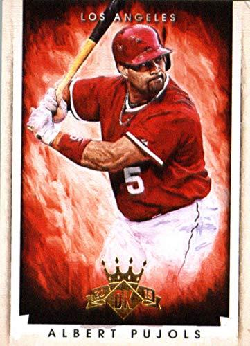 2015 Panini Diamond Kings #6 Albert Pujols Angels MLB Baseball Card NM-MT ()