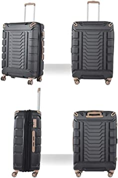Unisex Travel Case Large Capacity 8 Silent 360/°Wheels Waterproof Frosted Scratch-Proof Chassis 19//25//29 Inch Suitcase Qzny Suitcase Color : B, Size : 47.736.923cm