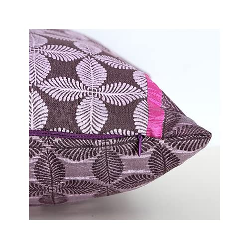 Zhzazo Jacquard Taie d'oreiller avec motif géométrique, canapé Taie d'oreiller