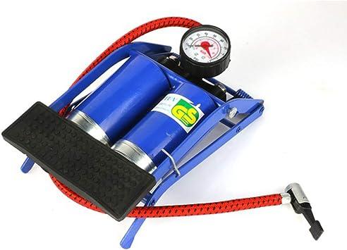 HAO Mini Bomba de Bicicleta con manómetro, Bombas de pie de 1600 ...