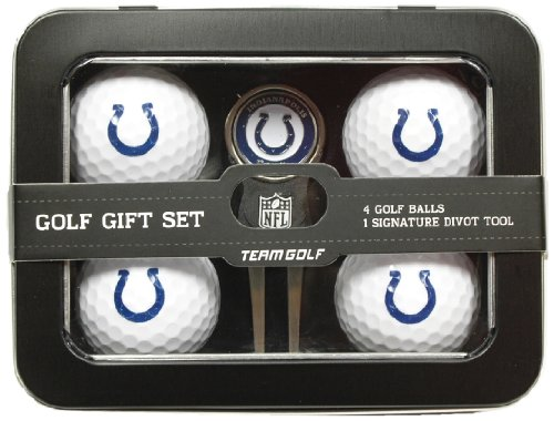 NFL Indianapolis Colts 4 Golf Ball And Divot Tool Set by Team Golf