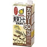 マルサン 豆乳飲料麦芽コーヒー カロリー50% オフ 1L×6本