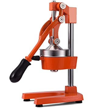 Compra Extractor de Zumo de Naranja Manual Profesional de Juicer con exprimidor de Mano Citrus Juicer 5.5 Kg (Color : Red) en Amazon.es