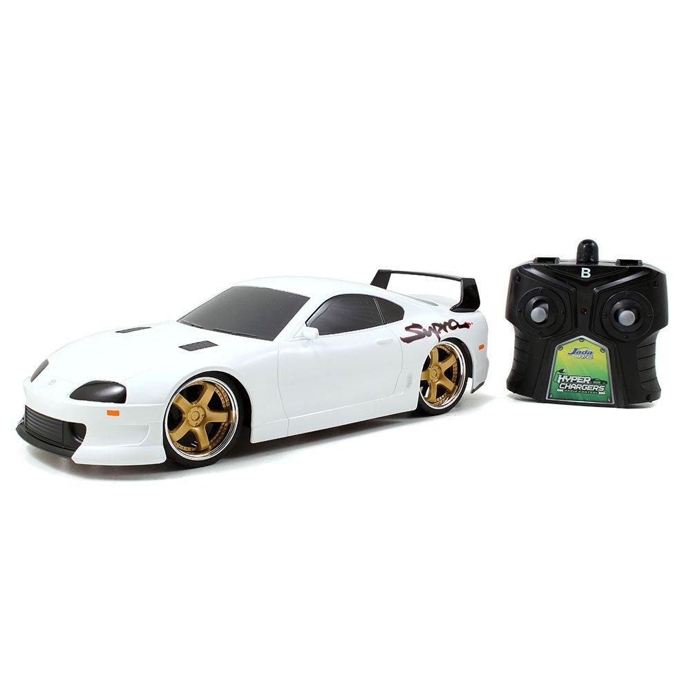 Amazon.com: Jada Toys HyperChargers 1 16 Tuner R/C Toyota Supra Vehicle:  Toys U0026 Games