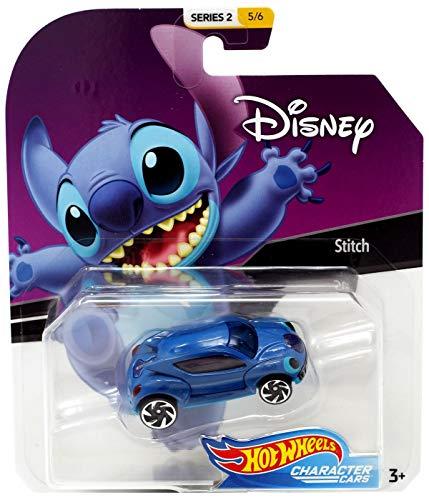- Stich Lilo & Stich Hot Wheels Disney Character Cars Diecast Car 1:64 Scale