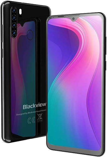 """Blackview A80 Pro Moviles Libres con Pantalla 6.49"""" HD+ Waterdrop ..."""